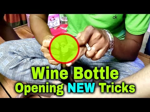 how-to-open-a-wine-bottle-simple-method-(wine-bottle-opening-tricks)