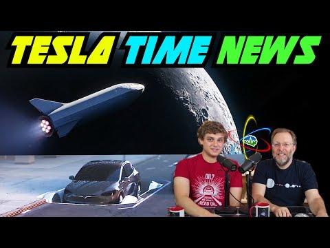Tesla Time News - Moon Flight & Boring Garage