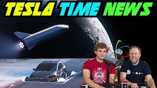 Tesla Time News - Moon Flight & Boring Garage