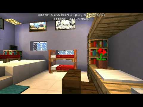 Bedroom In Minecraft Pe | Psoriasisguru.com