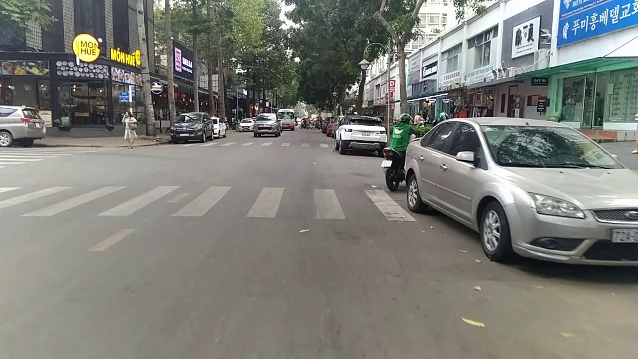Phú Mỹ Hưng , Quận 7 : Đường phố chiều cuối tuần bình yên