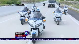 Presiden Jokowi Resmikan Tol Pertama Di Lampung  - NET 10