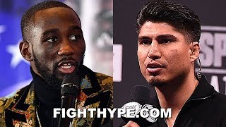 (WHOA!) TERENCE CRAWFORD CLAPS BACK AT MIKEY GARCIA; TELLS HIM