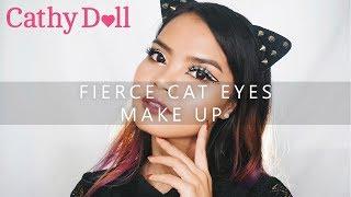 Fierce Cat Eyes Make Up || Alma Mestika ||  #ABBCCONTEST2017 || BAHASA