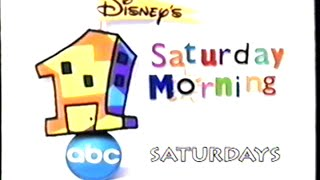 ABC – 1 Saturday Morning (1999) Promo (VHS Capture) thumbnail