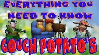 Wizard101 Couch Potato Tutorial. Where to Farm Couch Potato's, Triple Stacking Plots, and more!