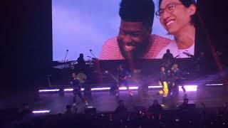 Khalid - Young Dumb & Broke // Live Concert 칼리드 내한 1080p