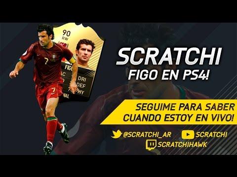 Fifa 17 | Luis Figo en PS4!