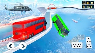 Impossible Bus Driving ▶️ Best Android Games - Android GamePlay HD - Bus Driving Stunts #3