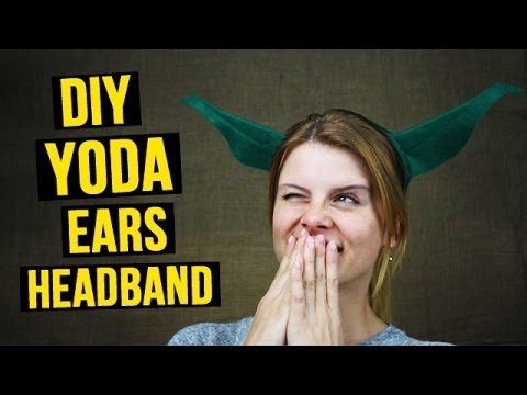 Diy yoda ears headband youtube diy yoda ears headband solutioingenieria Gallery