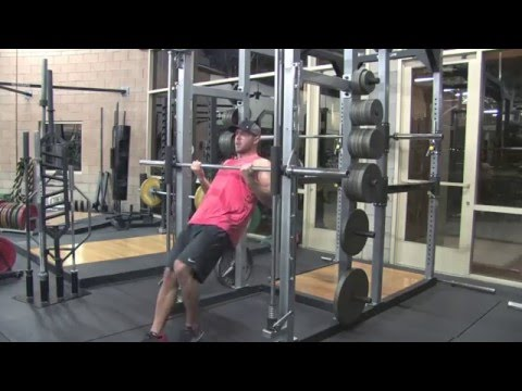 Smith Machine Inverted Rows