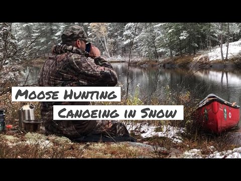 Northern Ontario / Moose Hunting / Grouse Hunting / Canoeing In The Snow