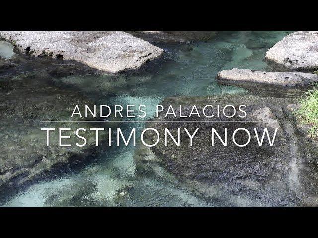 Testimony Now interviews Pastor Andres Palacios