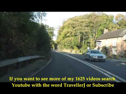 Driving in South Cheshire, England