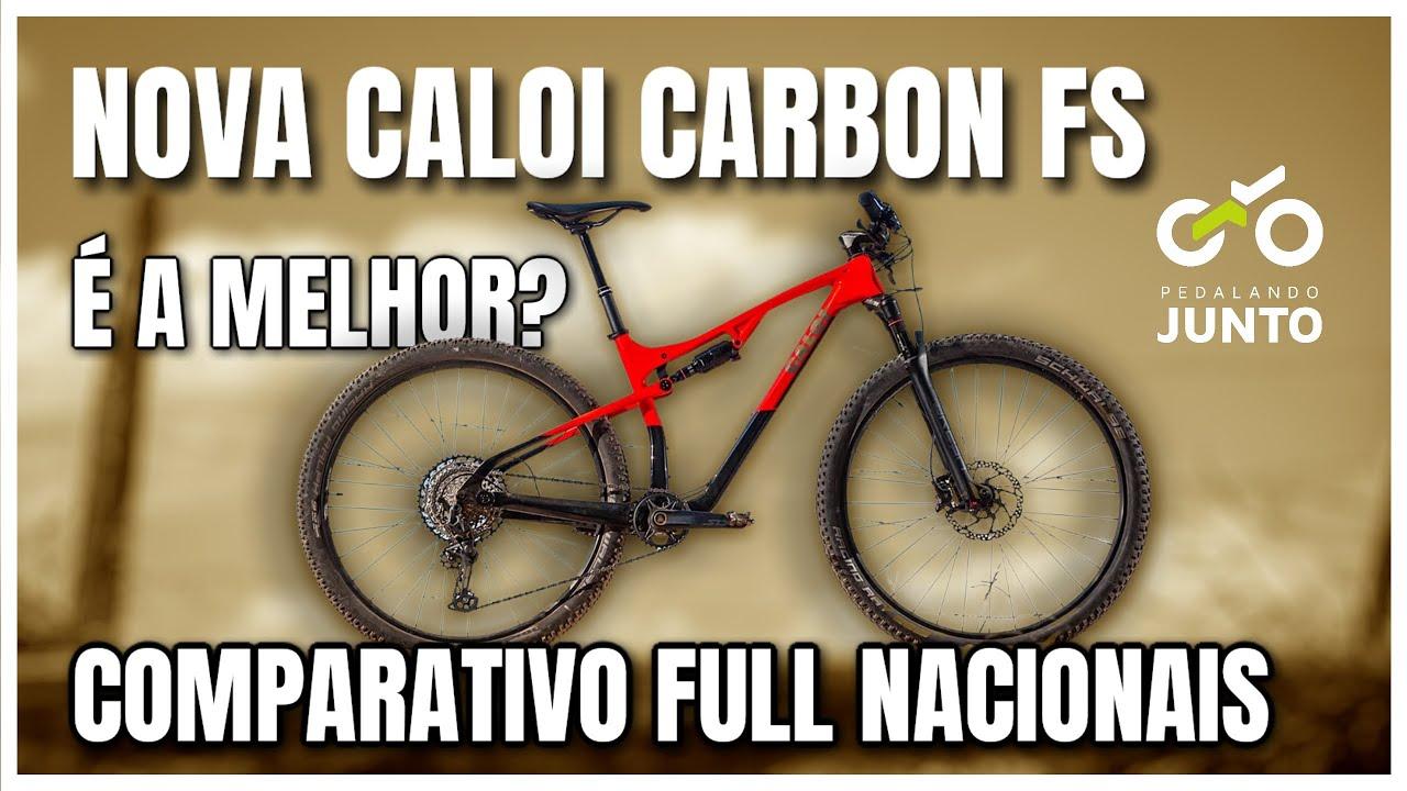 Caloi Elite Carbon FS,  Soul Volcano GX AXS e outras full