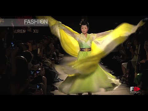 """LAURENCE XU"" Haute Couture Autumn Winter 2013 2014 Paris by Fashion Channel"