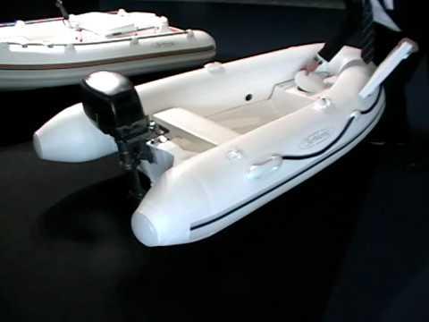 Aermarine tender Cabrio 2,0-2,2-2,45 mt patent overturnable transom