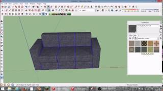 How To Make An Awesome Couch (sketchup Tutorial)