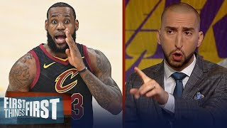 Nick Wright on how LeBron can elevate the Los Angeles Lakers franchise | NBA | FIRST THINGS FIRST