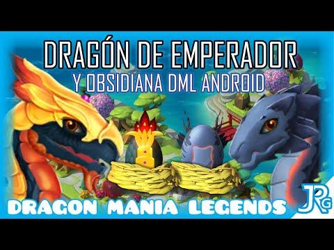 Dragón de Emperador y Obsidiana - Dragon Mania Legends Android