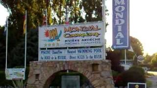 03062010155  Camping Mondial Vallon Pont d Arc Ardeche.mp4