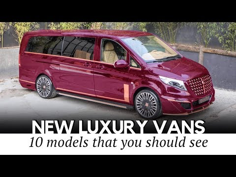 Top 10 Luxury Vans with Business Jet Interiors for Working on the Go