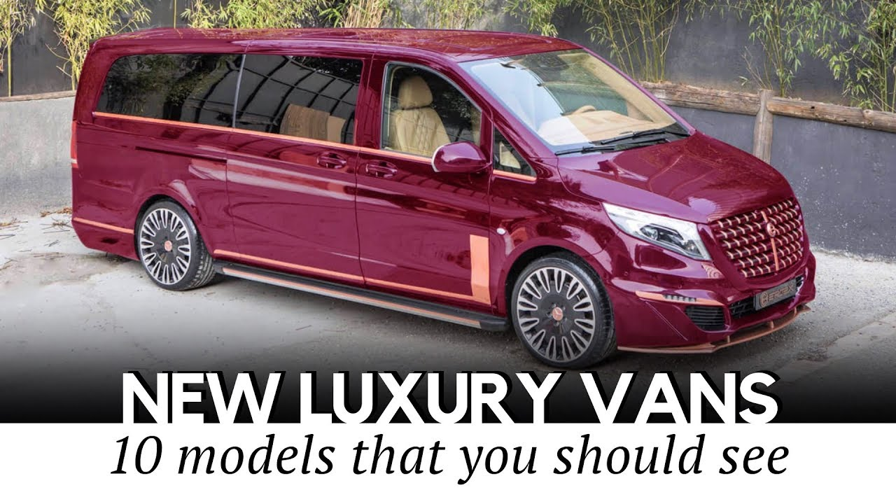 3cdc8a3ffd Top 10 Luxury Vans with Business Jet Interiors for Working on the Go ...