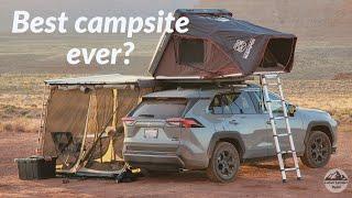 RAV4 Overland Adventure iฑ Utah | Pt. 1 Valley of the Gods Camping