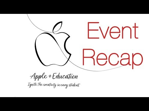 Apple Teacher & Education Event Recap