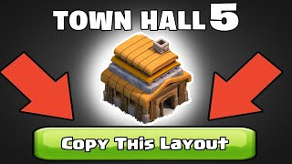 TOP 20 TH5 BASES WITH LINKS   TH5 WAR , FARMING , TROPHY & FUNNY BASES WITH LINKS !  @Clash of Clans