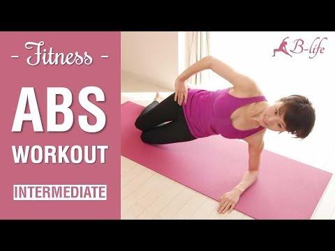 5 min abs workout  intermediate level  youtube