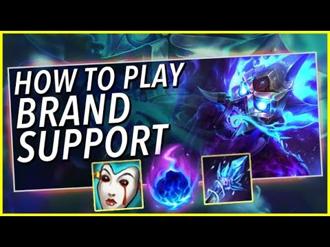 *RANK 1 SUPPORT* USE BRAND SUPPORT TO GET TO HIGH-ELO - League Of Legends