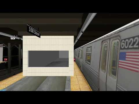 OpenBVE: R46 A Train Full Run From Inwood-207th Street to Far Rockaway