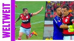 Brasilien crazy! Nach Kopfstoß: Irrer Mittelfinger-Torjubel für Mitspieler