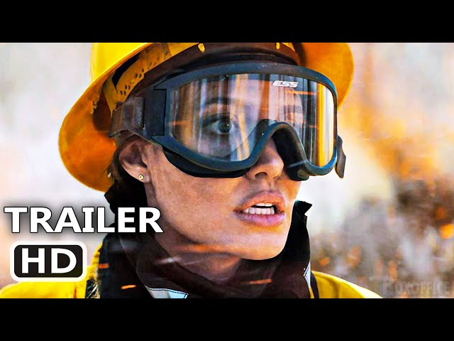 THOSE WHO WISH ME DEAD Official Trailer (2021) Angelina Jolie, Thriller Movie HD