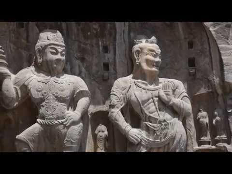 Longmen Grottoes China / Grottes de Longmen Chine 龙门石窟