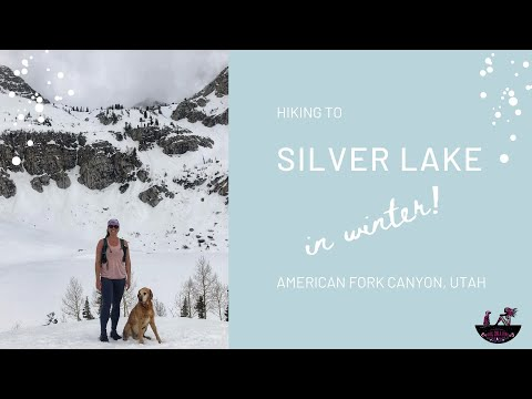 Hiking To Silver Lake In American Fork Canyon In Winter
