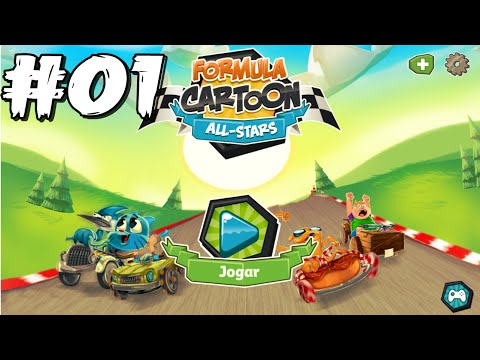 Formula Cartoon All Stars: Gumball Rei Da Corrida