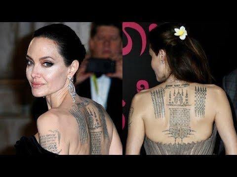 11 татуировок Анджелины Джоли, о значениях которых вы и не догадывались