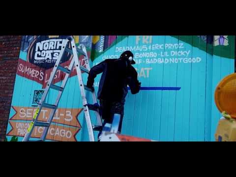 North Coast Music Festival 2017 Official Lineup Mural