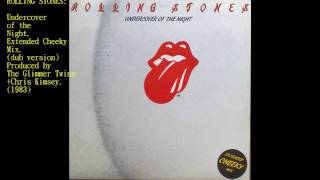 "Rolling Stones-Undercover of the Night (12""extended)."