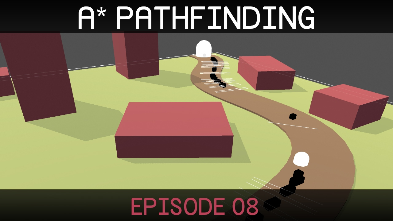 A* Pathfinding (E08: path smoothing 1/2)