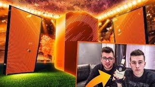 SZKLANKA WHISKY CHALLENGE! WOJNA NA PACZKI! ADRYAN VS VERNI! | FIFA 18