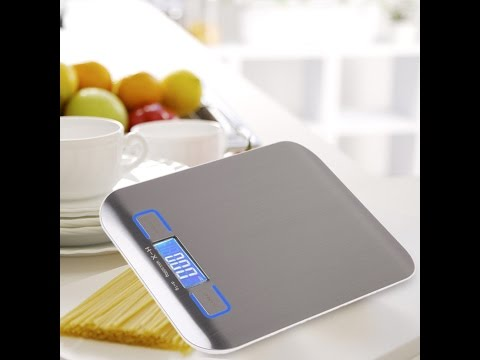 Electronic Kitchen Scale 5000g / 1g - Duration: 5:33.