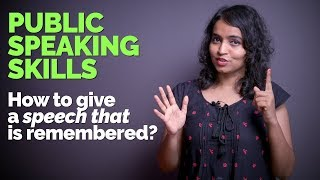 How to deliver a great Speech in English? Public Speaking Tips For Better Presentation Skills