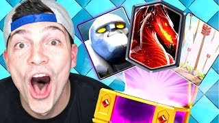 NEW OP CARDS! GOLEM, DRAGON? & ARROWS! CLASH ROYALE ALTERNATIVE: CASTLE CRUSH!