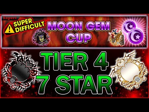 7 Star T4 Medals VS. Moon Gem Cup~ KH Union χ[Cross]