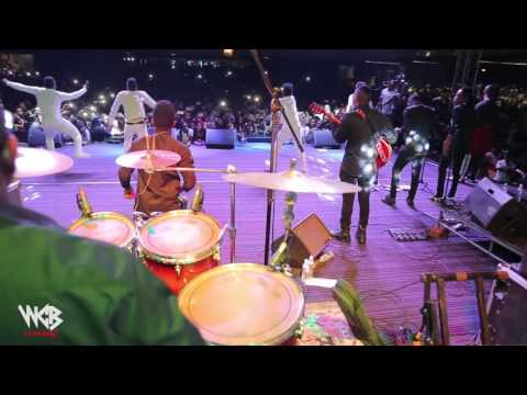 Diamond Platnumz - WCB DANCERS PERFOMING LIVE ZIMBABWE