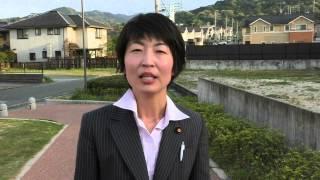 大野城市議会議員候補(現職1期) 松田みゆき.