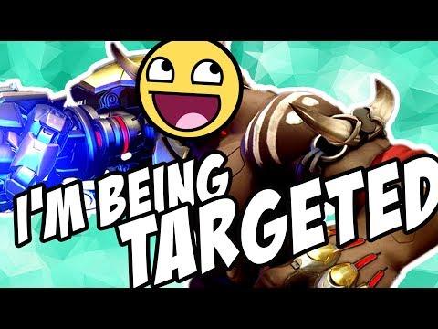 I'M BEING TARGETED || Overwatch Shenanigans Stream